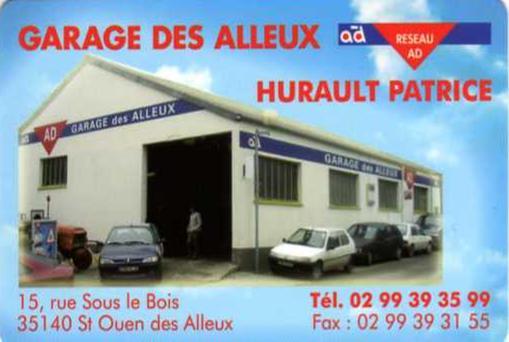 Sponsors for Garage des alleux